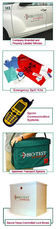 Bio-Test Medical Medical Courier Equipment